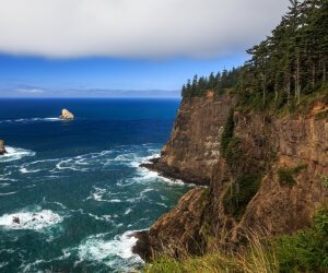 The Left Edge, Cape Lookout, Oregon Wallpaper