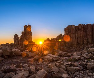 Sunrise Over Bombo Headland, Australia Wallpaper