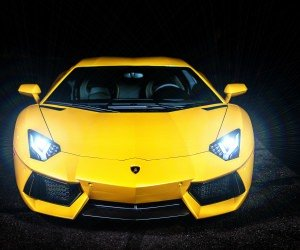 Lamborghini Murcielago LP670 Front View Wallpaper