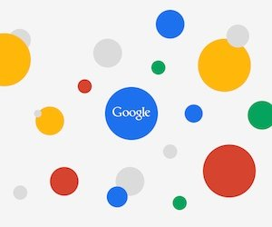 Google Circles Light Wallpaper