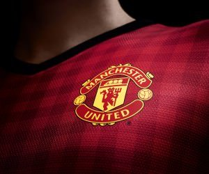 Manchester United Logo Shirt Wallpaper