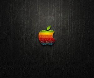 Multicolored Apple Logo Wallpaper
