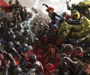 Avengers Age Of Ultron Concept Art Wallpaper