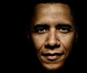 President Barack Obama Portrait Wallpaper