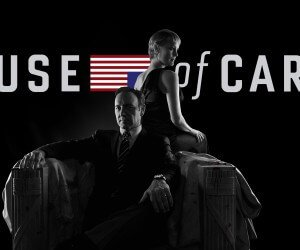 House of Cards - Black & White Wallpaper