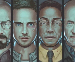 Breaking Bad Characters Wallpaper