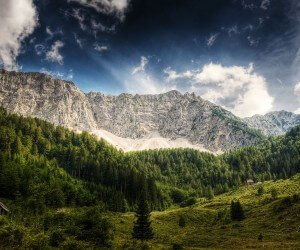 Dreamy Mountains Wallpaper