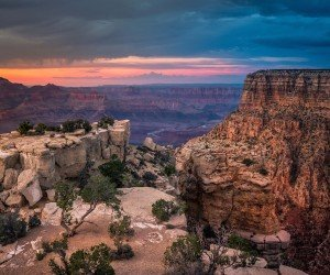Sunset At The Grand Canyon Wallpaper