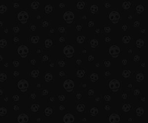 Star Skull Pattern Wallpaper