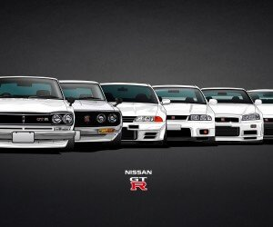 Nissan Skyline GT-R Evolution Wallpaper