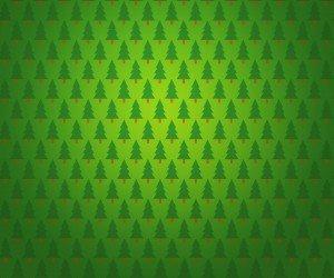Christmas Tree Pattern Wallpaper