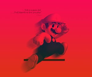 Super Mario Bros Quote Wallpaper