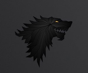 House Stark Emblem Wallpaper