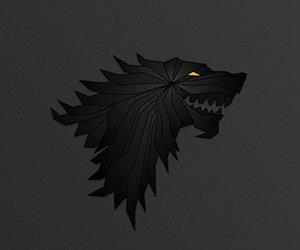 House Stark Emblem Wallpaper